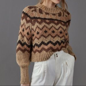 Anthropologie sweater!